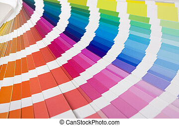 colour designer swatches - colour spectrum of swatches as...
