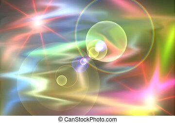 Colour Explosion - Colour explosion background design.