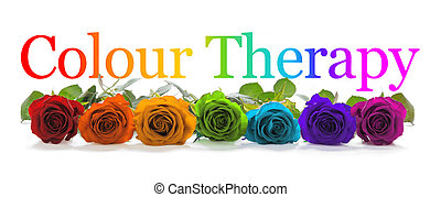Colour Healing Therapy Banner -