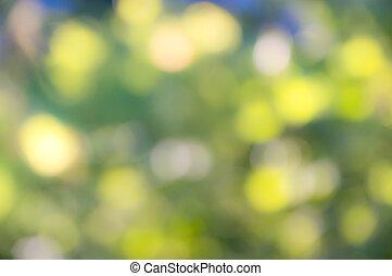 Colour lights background
