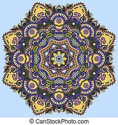 colour mandala, circle decorative spiritual indian symbol of lot