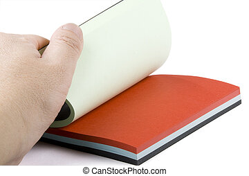 colour notebook
