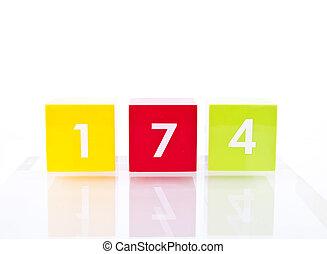 Colour Number Blocks