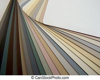 Colour Samples - Colour sample fandeck