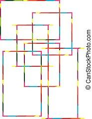 Colour square background