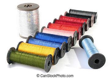 Colour threads