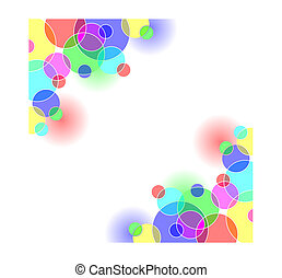 Coloured Circles - Bright coloured circles background....