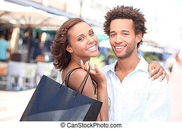 coloured couple