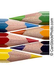 coloured pencil - Illustration of Coloured pencil