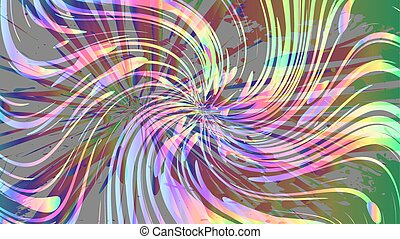 Colourful abstract background, rainbow gradient, vector