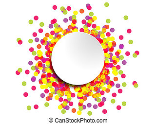 Colourful abstract design for use as a background