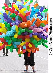 Colourful air baloons