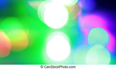 Colourful Bokeh Background 3