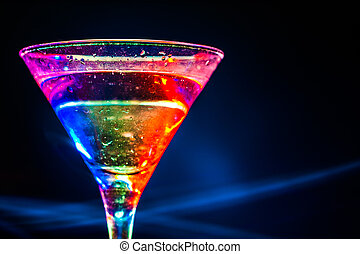 colourful coctail