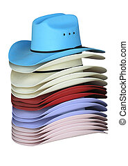 Colourful Cowgirl Hats
