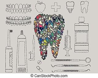 colourful dental