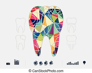 colourful dental