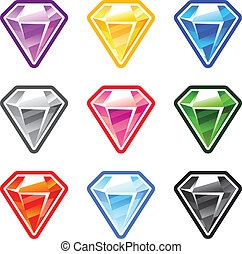 Colourful Diamonds