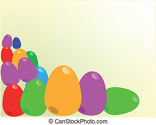 Colourful Easter Eggs