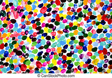Colourful fingerprints Abstract background - Abstract ...