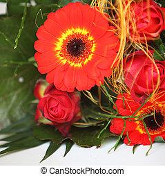Colourful Flower Arrangement