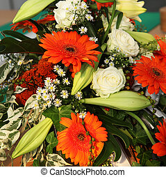 Colourful Gerbera Flower Decoration