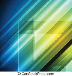 Colourful hi-tech vector background