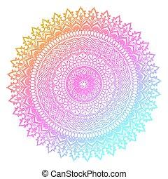 colourful mandala design 3005 - Decorative mandala design...