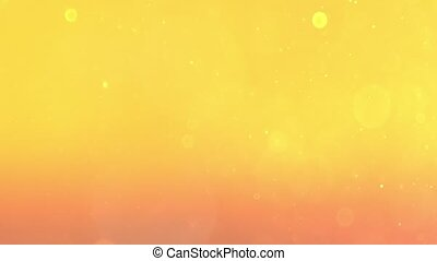 Colourful Shining Circular Particle