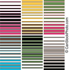 colourful stripe pattern