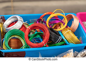 Colourful Wires Box