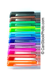 Colourfull pen cap