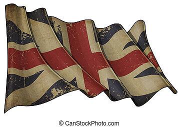 colours), 1606–1801, cric, historique, king's, union, (the, drapeau