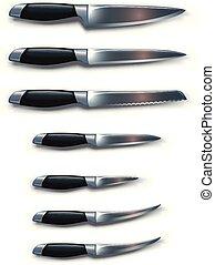 coltelli, immagine