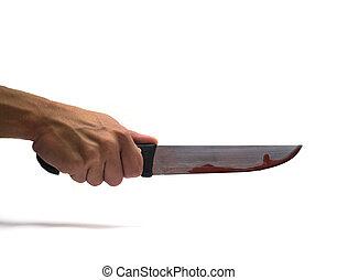 coltello, sanguinante