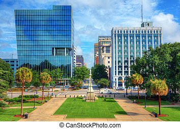 Columbia Cityscape - Skyline of downtown Columbia, South...