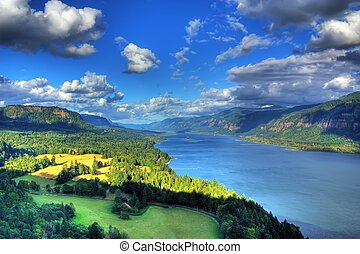 Columbia River Gorge - columbia river gorge located about 5...