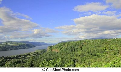 Columbia River Gorge Timelapse
