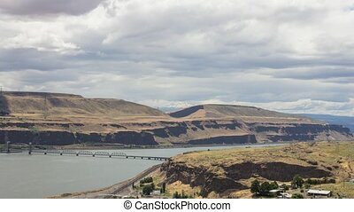 Columbia River in Washington 1080p - Columbia River Gorge...