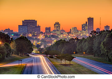 Columbia SC Skyline - Skyline of downtown Columbia, South...