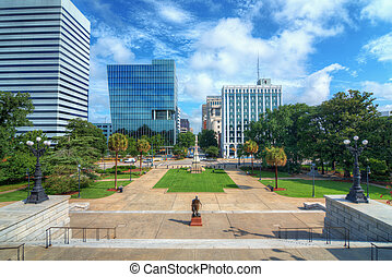 Columbia South Carolina - Skyline of downtown Columbia,...