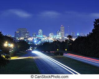 Columbia, South Carolina Skyline