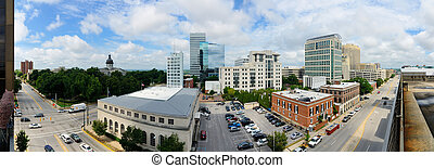 Columbia, South Carolina Skyline - Skyline of downtown...