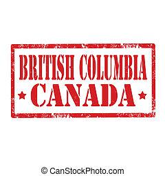 columbia-stamp, britannique