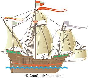 columbus, barco