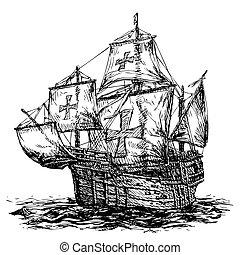 columbus ship