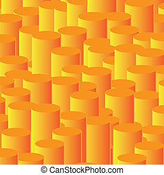Column chart - abstract vector background
