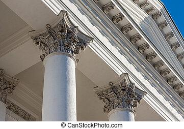 Column corinthian capital