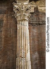 Column in Rome.