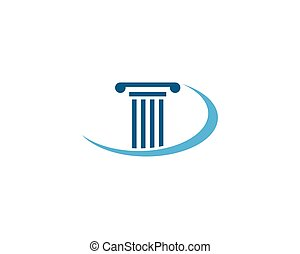 column Logo vector